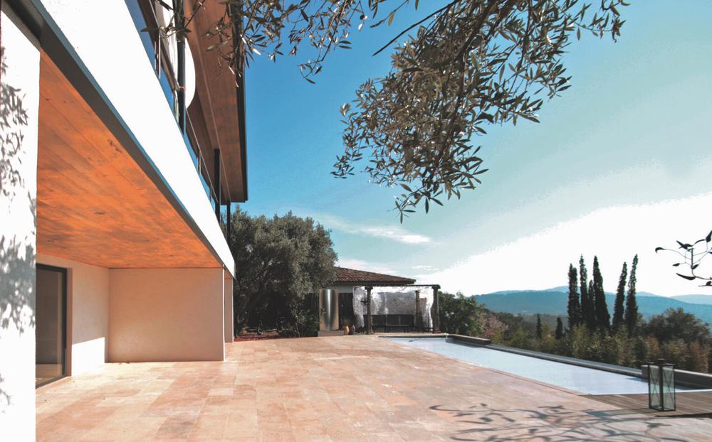 Une maison à ossature bois autonome en énergie