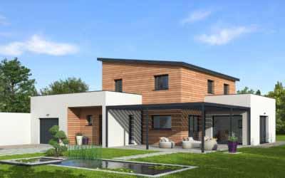 Natilia lance la première maison ossature bois à énergie positive