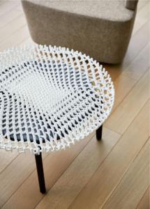 Bassline de Turnstone by Steelcase + Self Assembly Lab du MIT + le designer Christophe Gubaran