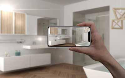 Utilisation des nouvelles technologies pour la salle de bains de demain