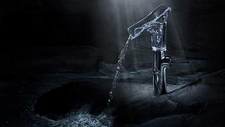 Le mitigeur de lavabo par Axor Starck V de Hansgrohe