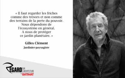 Gilles Clément, le jardinier en mouvement