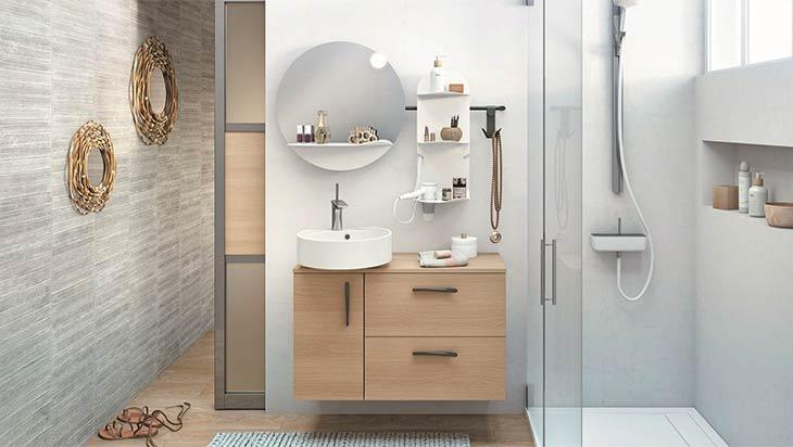 Aménagement d\'une petite salle de bain de 4m² - Blog Ideobain