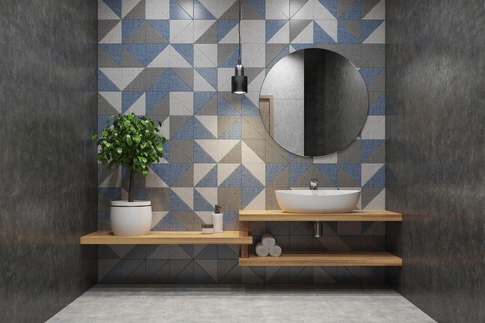 La faïence pour une salle de bain moderne - Blog Idéobain
