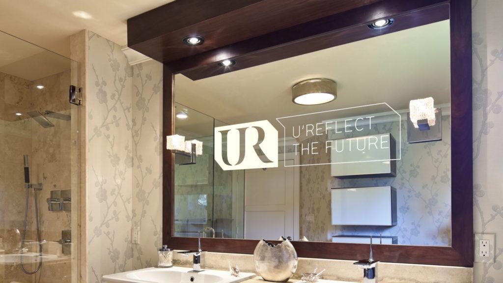 Miroir connect pour salle de bain le nouveau gadget high tech blog id obain - Miroir salle de bain connecte ...