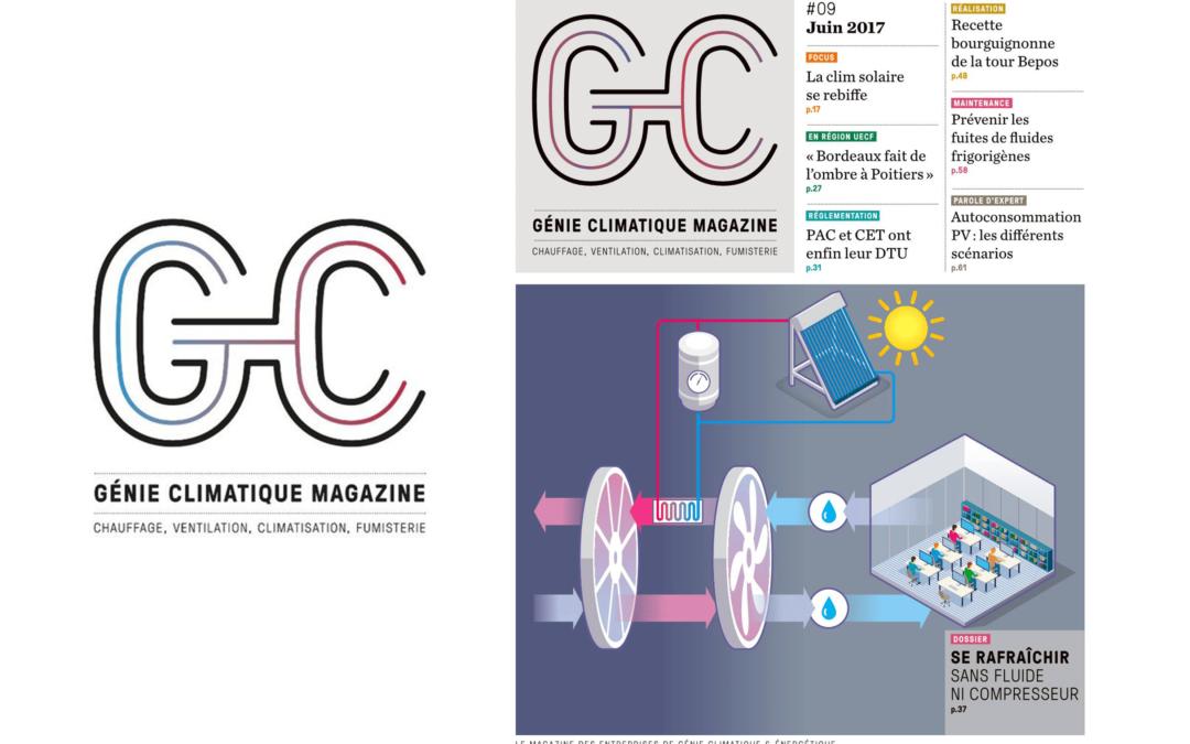 Génie climatique magazine : la source d'information dédiée au secteur