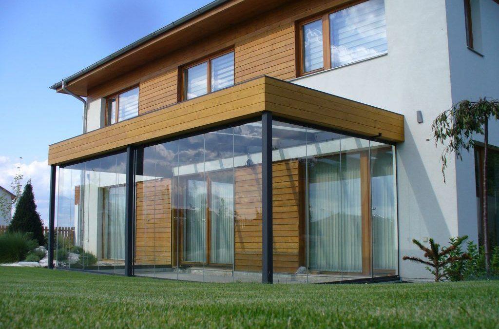 Rideau de verre : des espaces extérieurs modulables