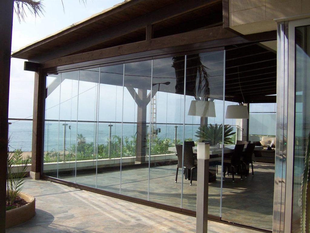 Systeme De Rideau Coulissant rideau de verre : des espaces extérieurs modulables - blog