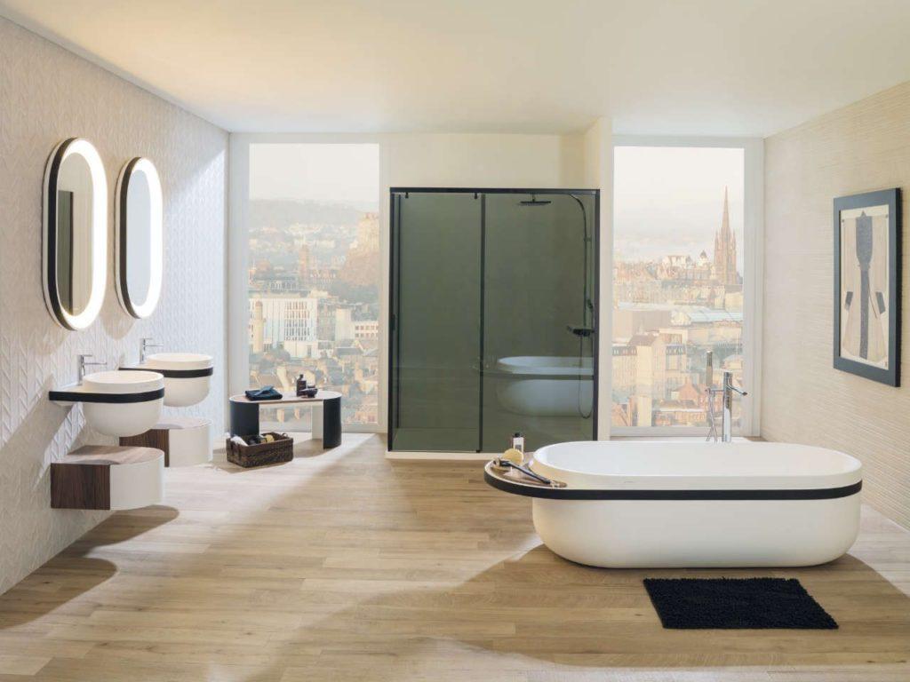 salle-de-bain-porcelanosa-baignoire