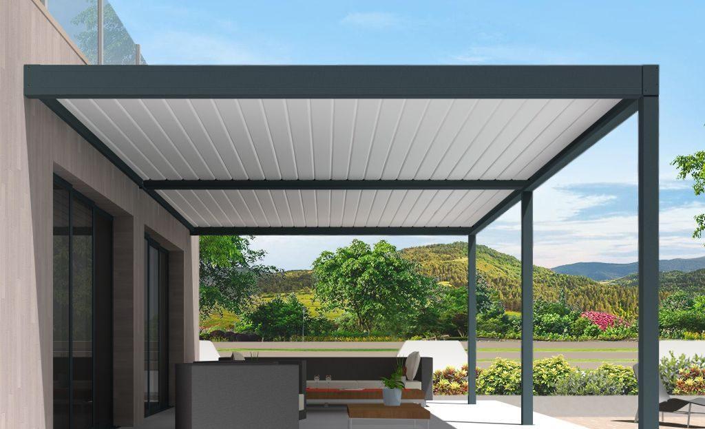 Pergola aluminium à lames orientables : le confort modulable en fonction des besoins - Blog ...