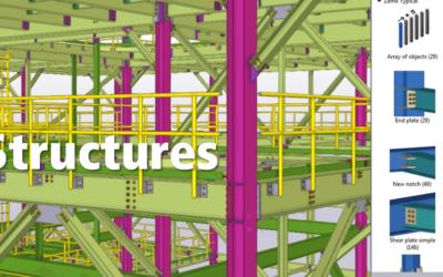Tekla, logiciel BIM de conception et construction de structures