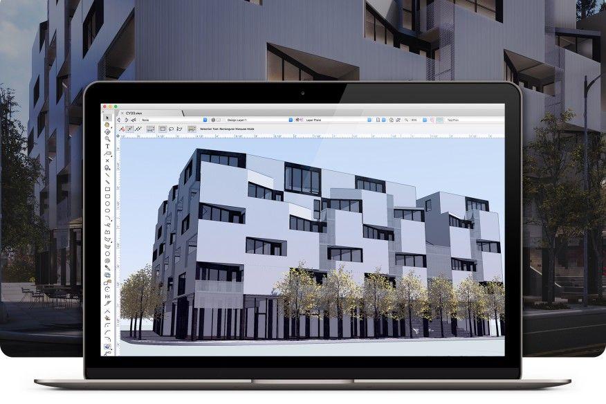 Logiciel Vectorworksdes solutions pour l'architecture