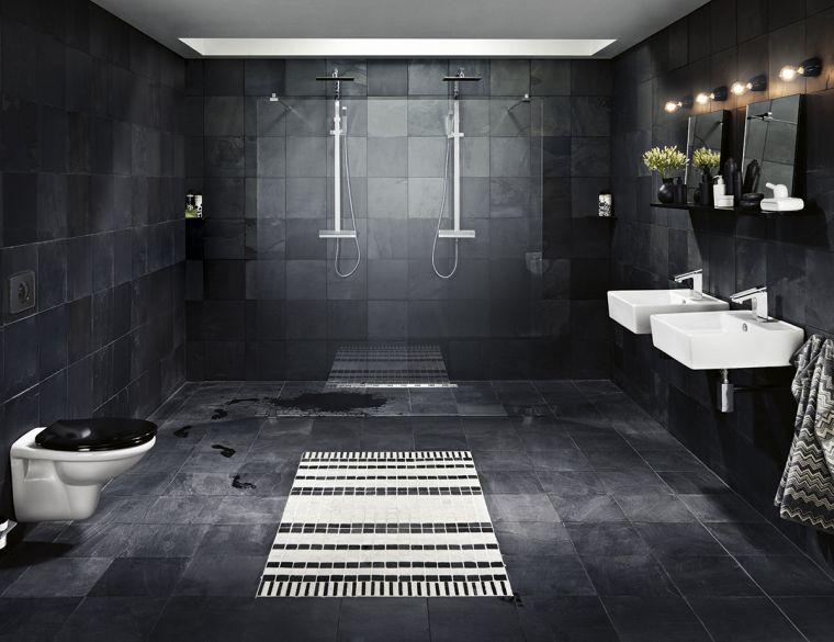 salle-de-bain-noir-mur