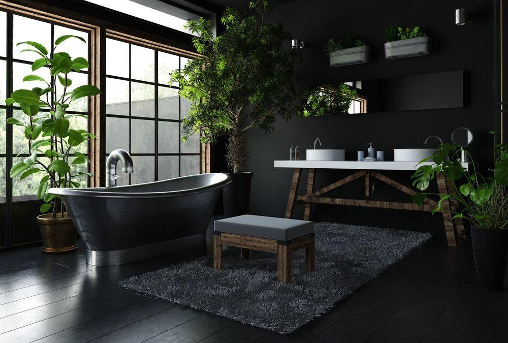 Salle de bain noir, comment bien utiliser cette couleur ?