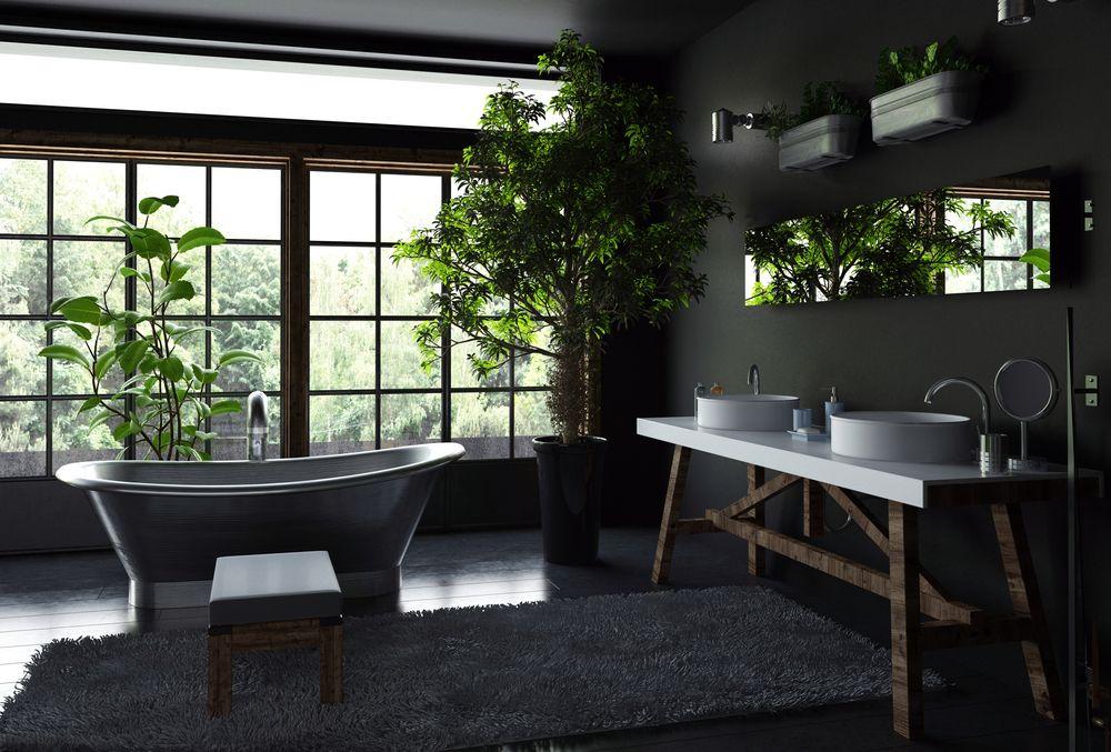 salle-de-bain-originale-plantes