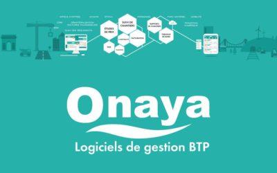 Onaya, ERP de gestion de chantier