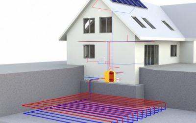 Pompe à chaleur géothermique : efficace et économique tout au long de l'année