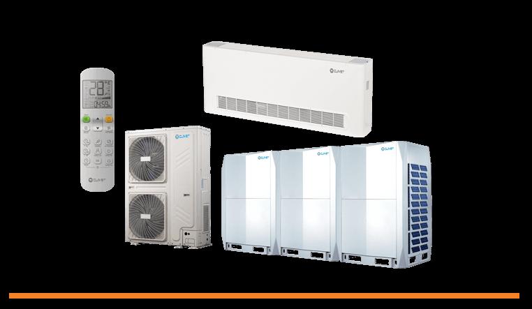 Clivet : le spécialiste du chauffage et de la climatisation pour toutes les surfaces