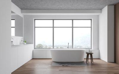 Une salle de bain minimaliste et design, c'est possible !