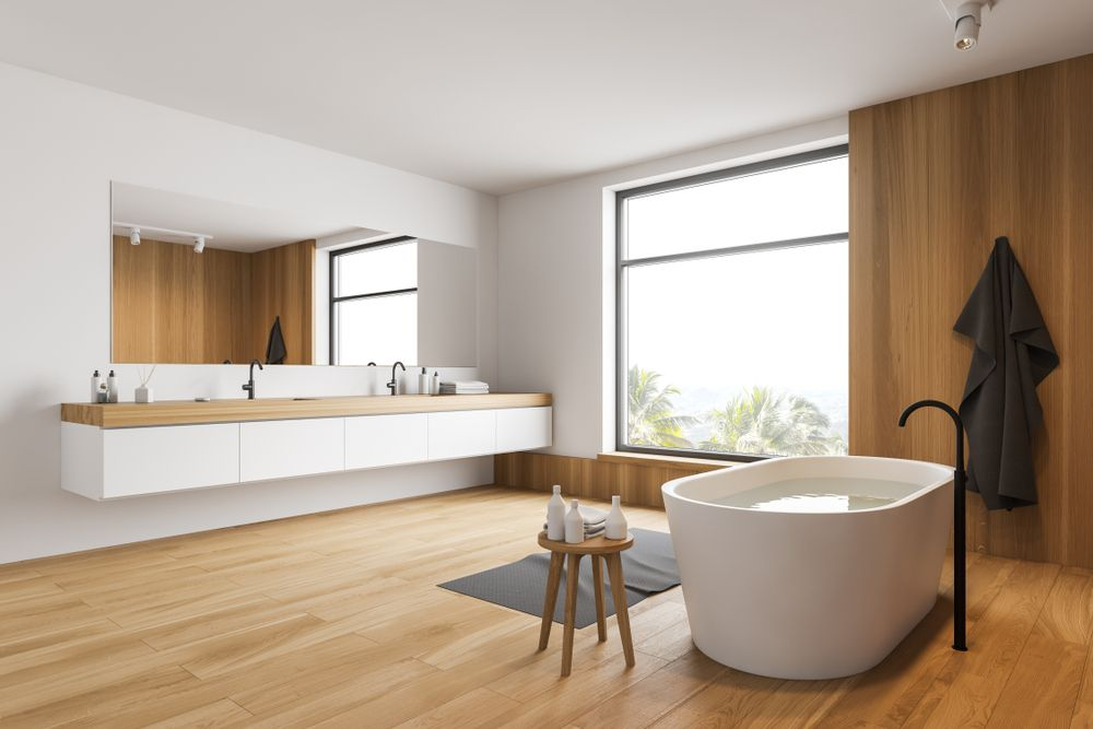 salle-de-bain-minimaliste-bois
