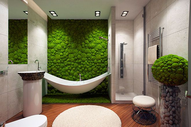 mur-vegetal-salle-de-bain-idee
