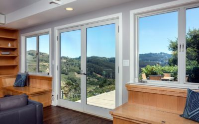 Porte fenêtre en aluminium : mélange d'accessibilité et de luminosité