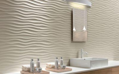 Carrelage 3D, décryptage de la grande tendance pour la salle de bain