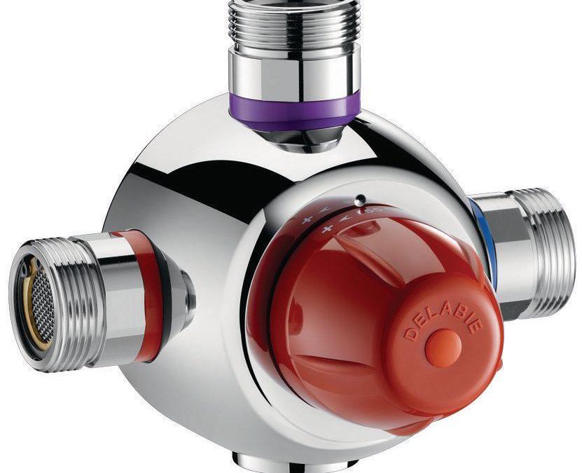 Pourquoi choisir un mitigeur thermostatique Delabie comme robinet ?