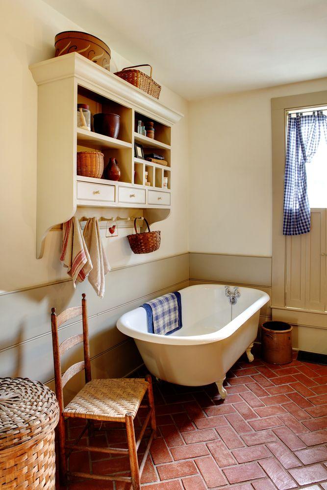 salle-de-bain-retro-bois