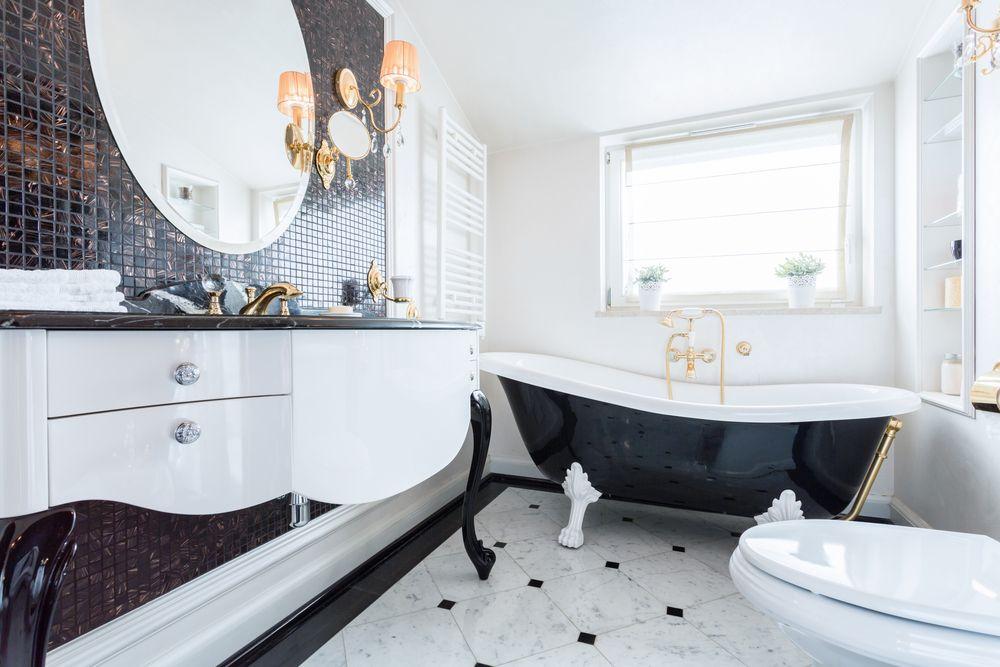 Salle de bain rétro : une décoration tendance pour vos clients