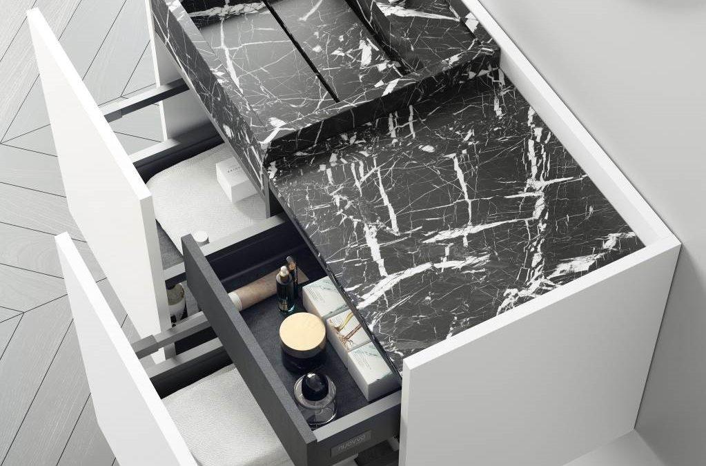 Meuble de bain ROMA de NUOVVO®, le bijou de la salle de bain