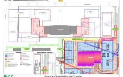 Plan d'installation de chantier : que doit-il contenir ?