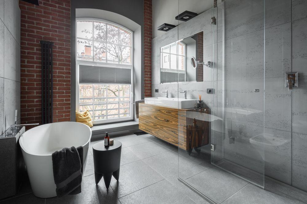 salle-de-bain-style-industriel-brique