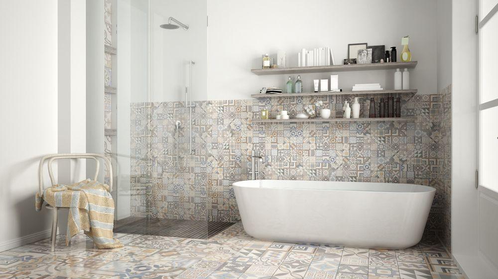 carrelage-céramique-baignoire