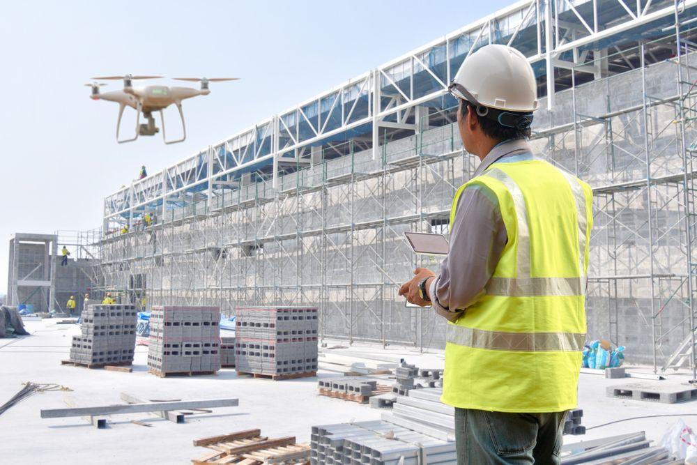 Utilisation des drones dans le secteur du BTP