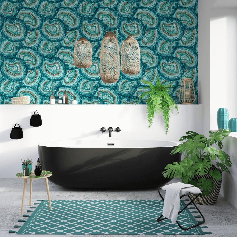 papier-peint-salle-de-bain-vinyle