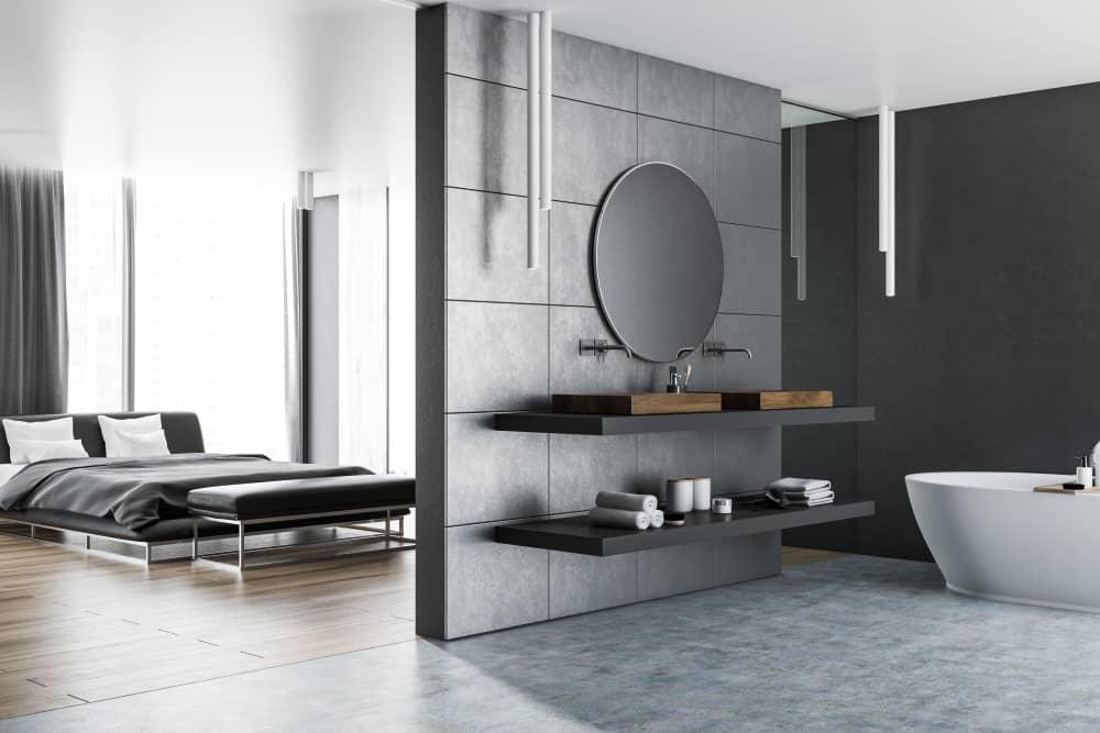 Salle de bains ouverte sur chambre : ce qu'il faut savoir pour l'aménager