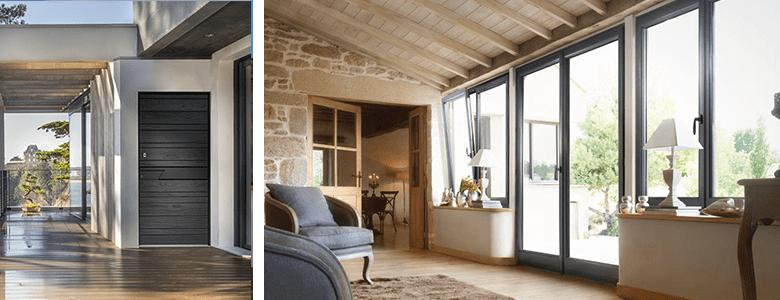 Une offre variée et innovante de portes d'entrée et de fenêtres