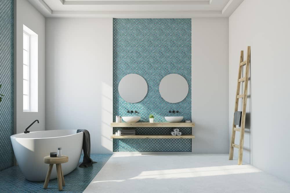 salle-de-bain-contemporaine-couleur
