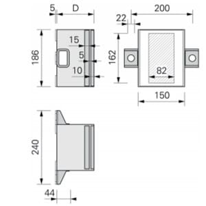 Console pour charges lourdes SLK®-ALU-TTR