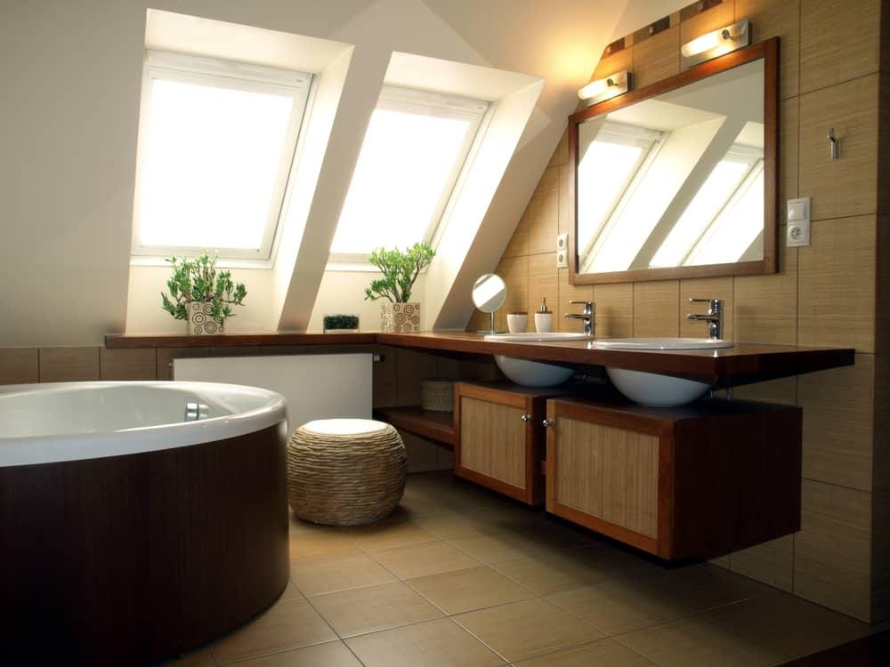 meuble-salle-de-bain-teck-tendance