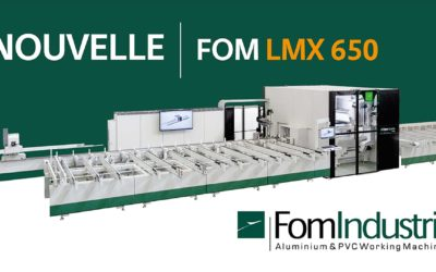 Ligne de débit et usinage LMX650 de FOM Industrie