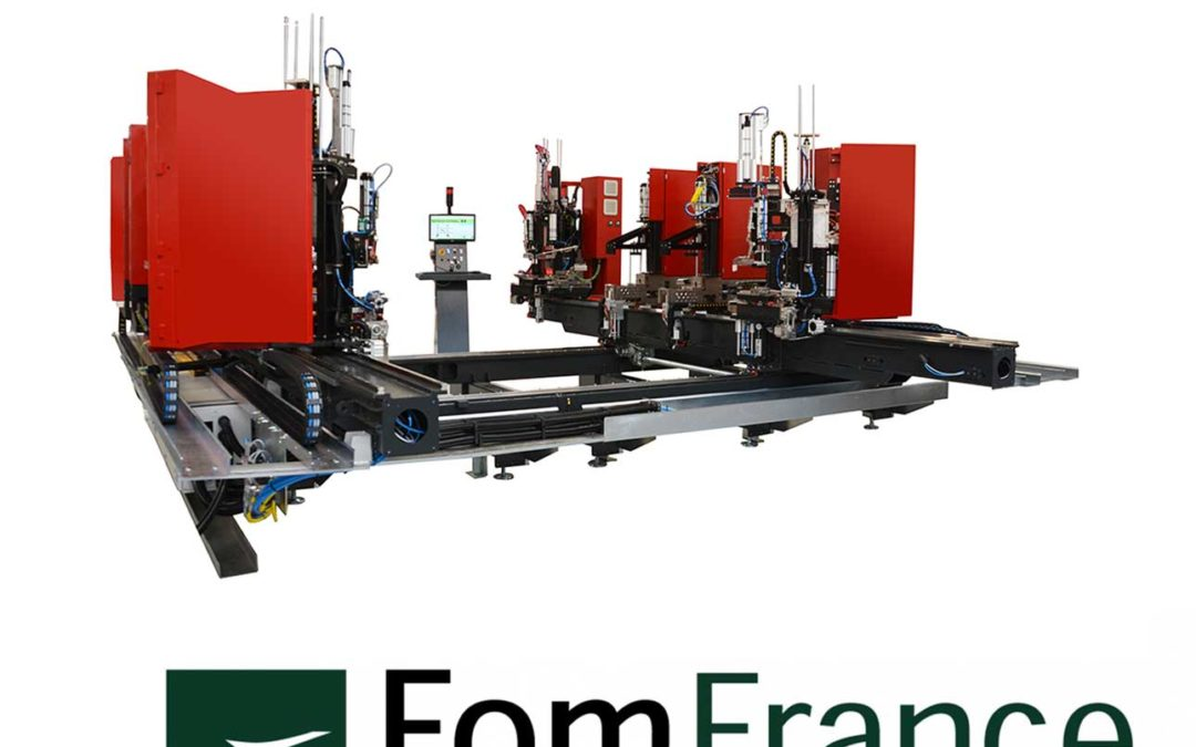 FOM Industrie présente la première machine de sougade