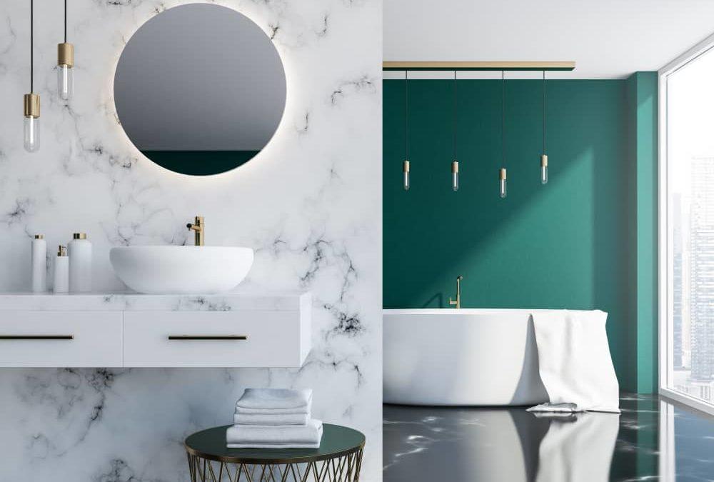 La salle de bains en marbre, une tendance intemporelle