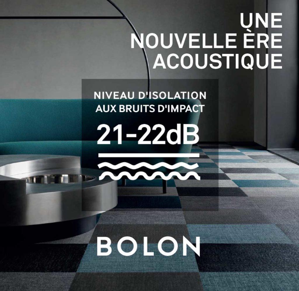Sous couche acoustique Bolon