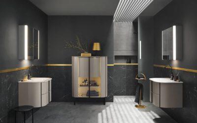 Zoom sur le meuble de salle de bains Burgbad