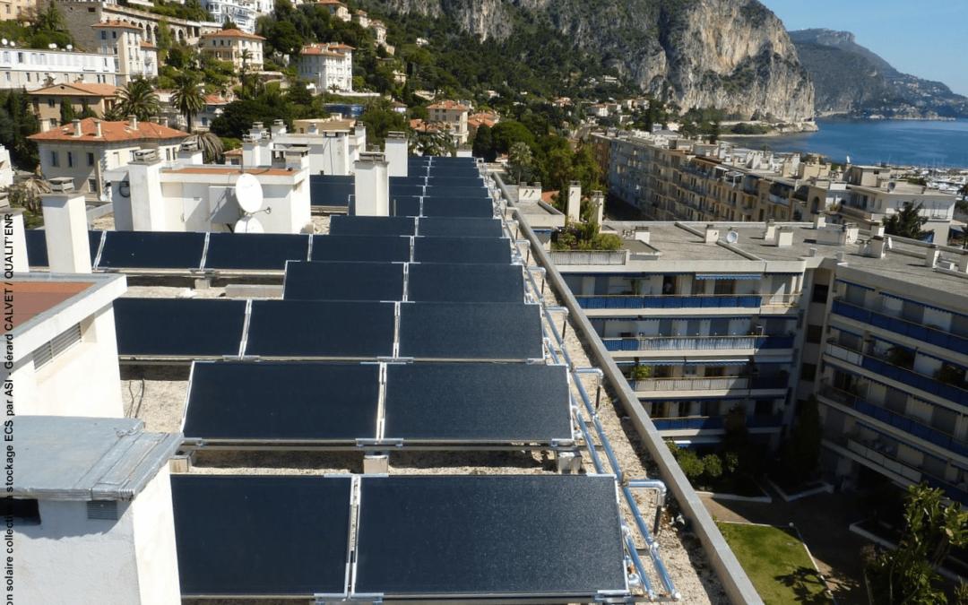 Le système solaire combiné pour la rénovation en logement collectif