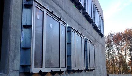 Pose de menuiserie en isolation thermique par l'extérieur